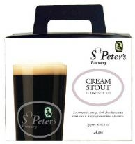 St. Peters Cream Stout 3.0 Kg 36 Pints Beer Kit